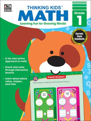 cover image of Thinking Kids' Math, Grade 1