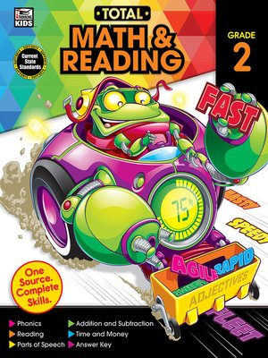 cover image of Total Math and Reading, Grade 2