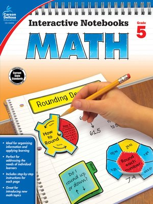 cover image of Math, Grade 5
