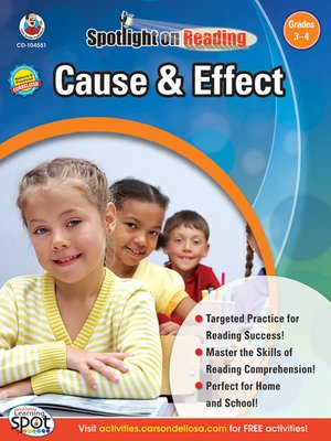 cover image of Cause & Effect, Grades 3 - 4
