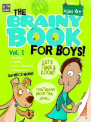 cover image of Brainy Book for Boys, Volume 1 Activity Book