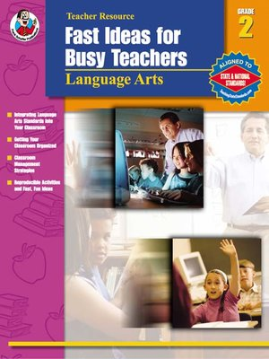 cover image of Fast Ideas for Busy Teachers: Language Arts, 2
