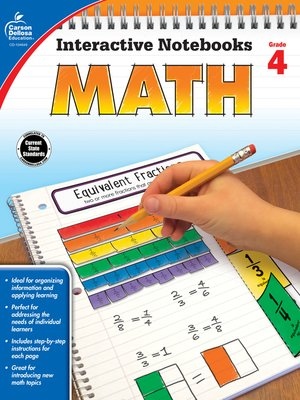 cover image of Math, Grade 4