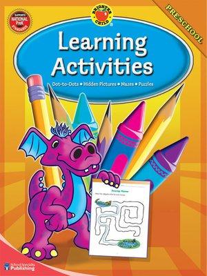 cover image of Learning Activities, Grade Preschool