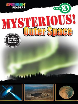 cover image of Mysterious! Outer Space