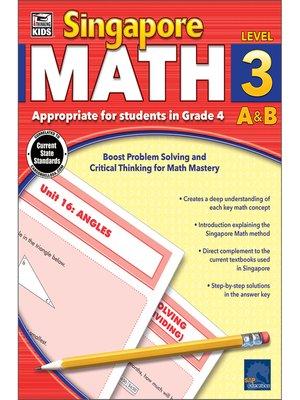 cover image of Singapore Math, Grade 4