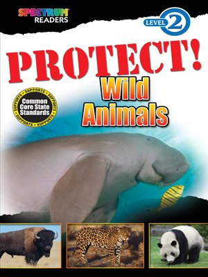 cover image of PROTECT! Wild Animals