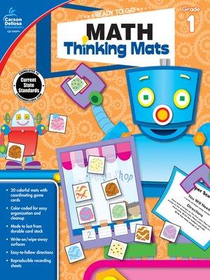 cover image of Math Thinking Mats, Grade 1
