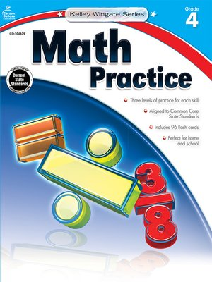 cover image of Math Practice, Grade 4