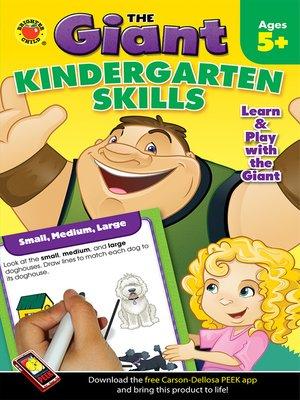 cover image of Kindergarten Skills Activity Book