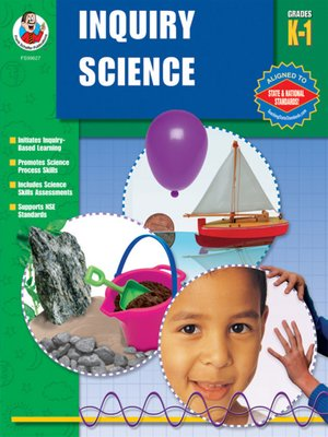 cover image of Inquiry Science, Grades K-1