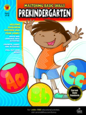 cover image of Mastering Basic Skills® PreKindergarten Workbook