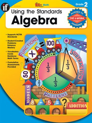 cover image of Using the Standards - Algebra, Grade 2