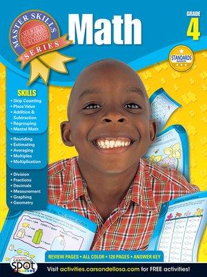 cover image of Math, Grade 4
