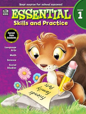 cover image of Essential Skills and Practice, Grade 1