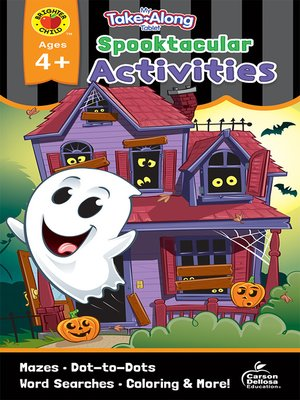 cover image of My Take-Along Tablet Spooktacular Activities, Ages 4--5