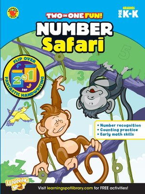 cover image of Number Safari & Fantastic Handwriting, Grades PK - K
