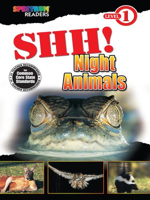 cover image of Shh! Night Animals
