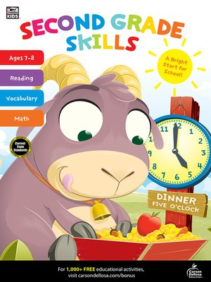 cover image of Second Grade Skills