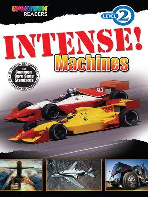 cover image of Intense! Machines