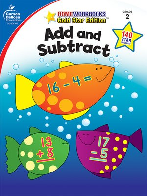 cover image of Add and Subtract, Grade 2