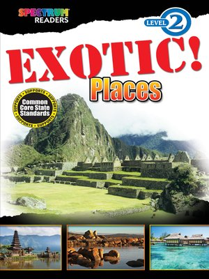 cover image of EXOTIC! Places