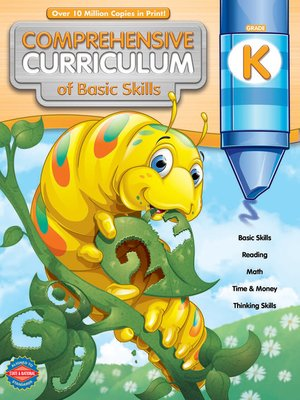 cover image of Comprehensive Curriculum of Basic Skills, Grade K