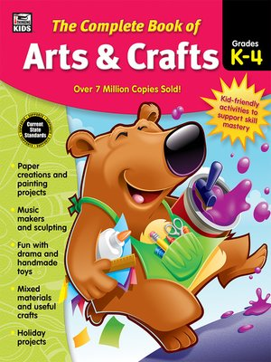 cover image of The Complete Book of Arts & Crafts, Grades K--4