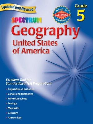 cover image of Geography, Grade 5