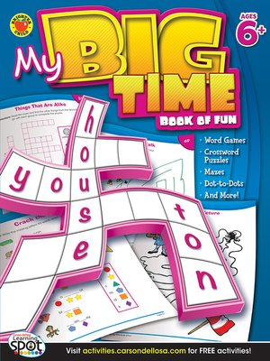 cover image of My Big Time Book of Fun, Grades 1 - 3