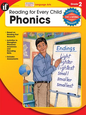 cover image of Phonics, Grade 2