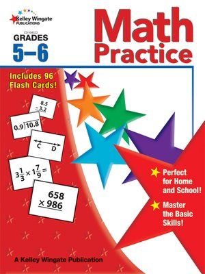 cover image of Math Practice, Grades 5 - 6