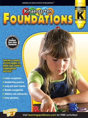 cover image of Kindergarten Foundations, Grade K