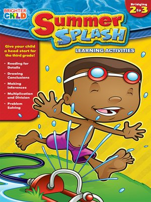 cover image of Summer Splash Learning Activities, Grades 2 - 3