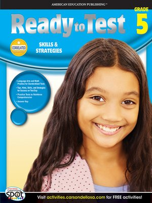 cover image of Ready to Test, Grade 5