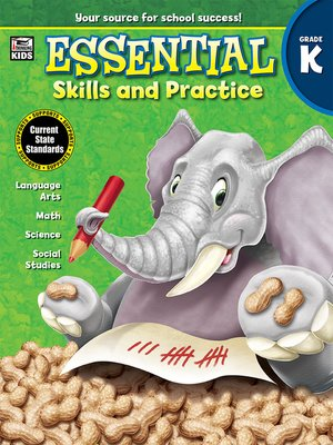 cover image of Essential Skills and Practice, Grade K