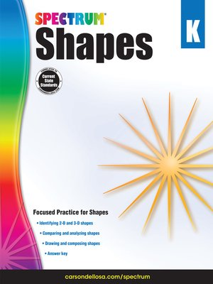 cover image of Shapes, Grade K