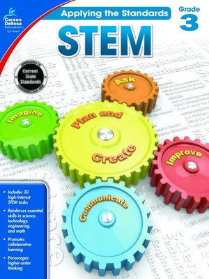 cover image of STEM, Grade 3