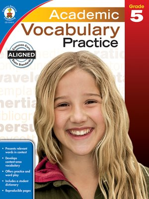 cover image of Academic Vocabulary Practice, Grade 5