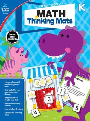 cover image of Math Thinking Mats, Grade K