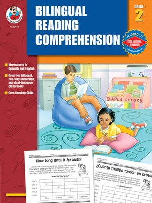 cover image of Bilingual Reading Comprehension, Grade 2