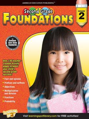 cover image of Second Grade Foundations, Grade 2