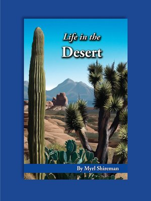 cover image of Life in the Desert