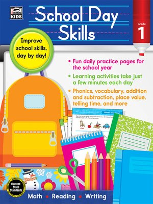 cover image of School Day Skills, Grade 1