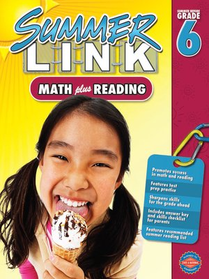 cover image of Math Plus Reading, Grades 5 - 6