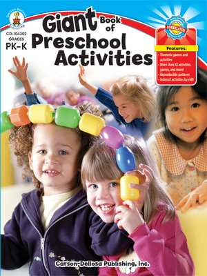 cover image of Giant Book of Preschool Activities, Grades Pre-K - K