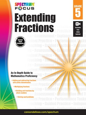 cover image of Spectrum Extending Fractions