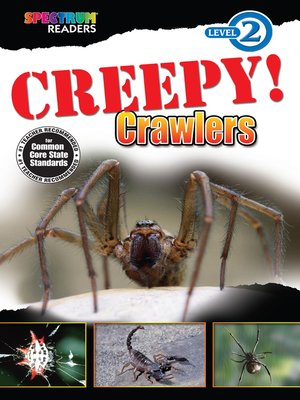 cover image of Creepy! Crawlers