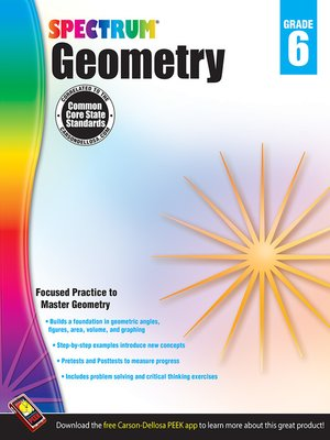 cover image of Geometry, Grade 6
