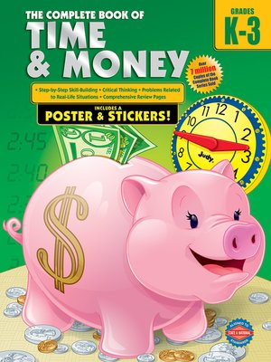 cover image of The Complete Book of Time and Money, Grades K--3